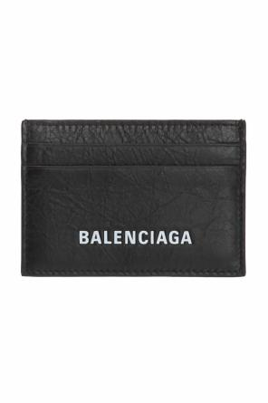 Card case with a logo od Balenciaga